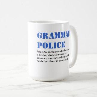 Mug Police de grammaire