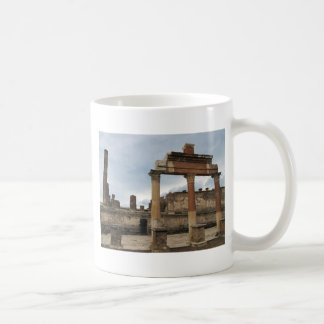 Mug Pompeii - colonnes restantes de l'arcade