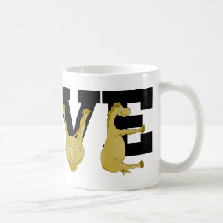 Mug Poney agile d'AMOUR