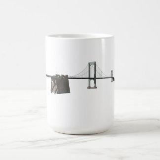 Mug Pont de Bronx Whitestone : modèle 3D :