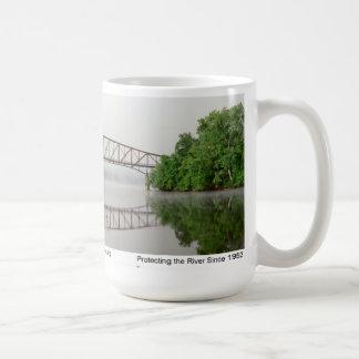 Mug Pont de Schell en brouillard d'aube
