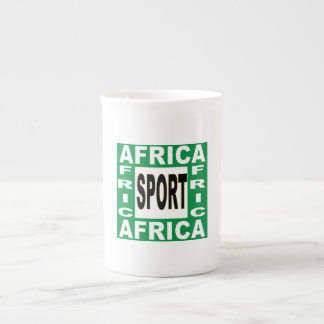 MUG  PORCELAINE  AFRICA SPORT