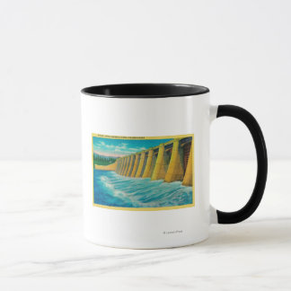 Mug Portes de déversoir sur le barrage de Bonneville