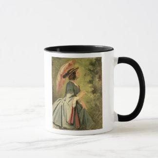Mug Portrait d'Anna, la fille de l'artiste, 1860