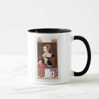 Mug Portrait de 1489-1541) reines de Margaret Tudor