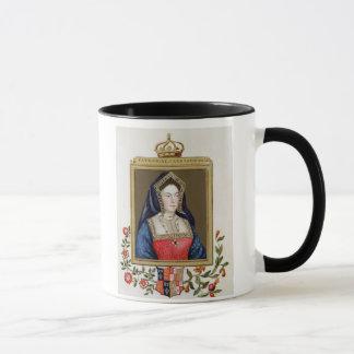 Mug Portrait de Catherine d'Aragon (1485-1536) ęrs Qu