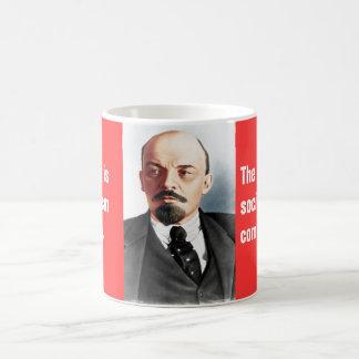 Mug Portrait de couleur de Lénine
