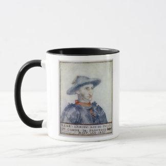 Mug Portrait de duc de Rene I de l'Anjou