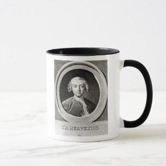 Mug Portrait de Français de Claude Adrien Helvetius