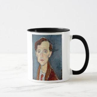 Mug Portrait de Franz Hellens, 1919 (huile sur la