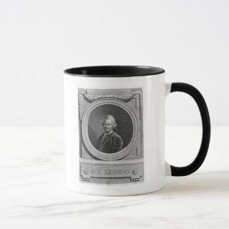 Mug Portrait de Gotthold Ephraim Lessing