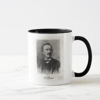 Mug Portrait de Heinrich Schliemann