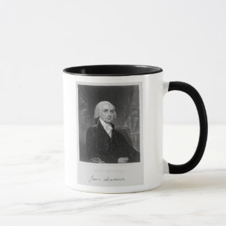 Mug Portrait de James Madison, gravé par William A.