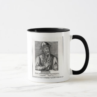 Mug Portrait de Johannes Gutenberg