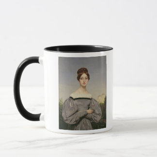 Mug Portrait de la fille de Louise Vernet du