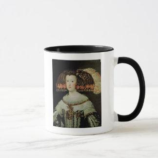 Mug Portrait de la Reine Maria Anna de l'Espagne