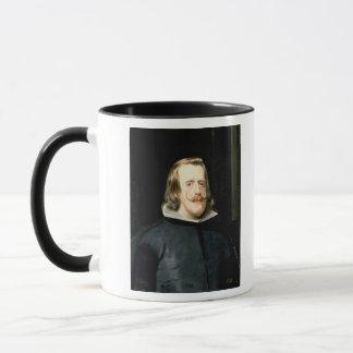 Mug Portrait de la robe de Philip IV devant le