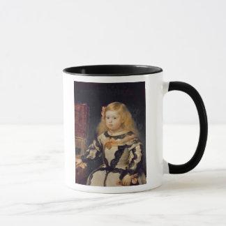 Mug Portrait de l'Infanta Maria Marguerita 1654