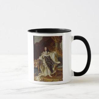 Mug Portrait de Louis XV dans des ses robes longues de