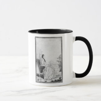 Mug Portrait de Madame du Deffand, 1760