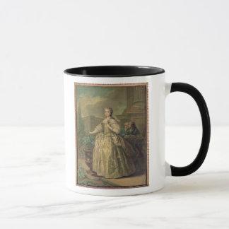 Mug Portrait de Maria Leszczynska 1747