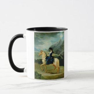 Mug Portrait de Maria Teresa de Vallabriga sur le