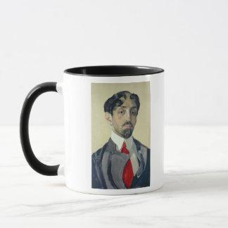 Mug Portrait de Mikhail Kuzmin, 1909