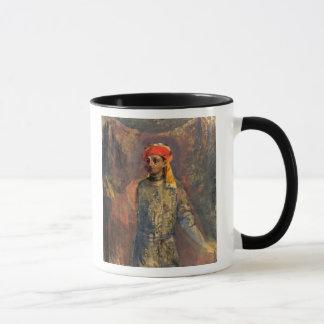 Mug Portrait de Mikhail Kuzmin, 1911-12