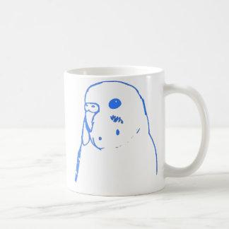 Mug Portrait de perruche d'Aqua
