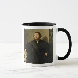 Mug Portrait de Raphaele Grassi (huile sur la toile)