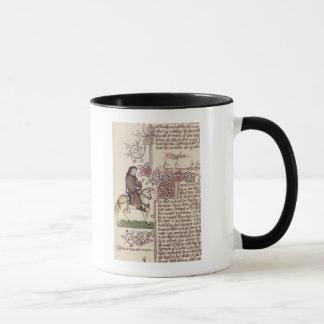 Mug Portrait de télécopie de Geoffrey Chaucer de