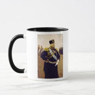 Mug Portrait de tsar Alexandre III, 1900