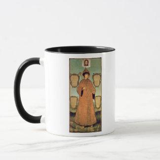Mug Portrait de tsar Fyodor Alexeevich