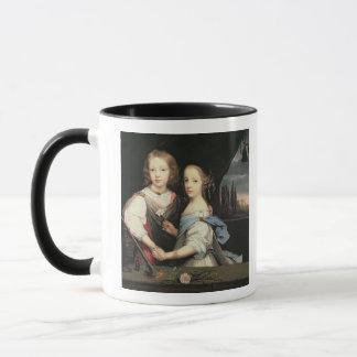 Mug Portrait de Winston et d'Arabella (1648-1730)