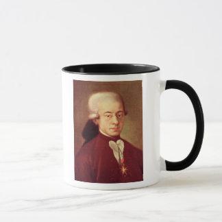 Mug Portrait de Wolfgang Amadeus Mozart après 1770