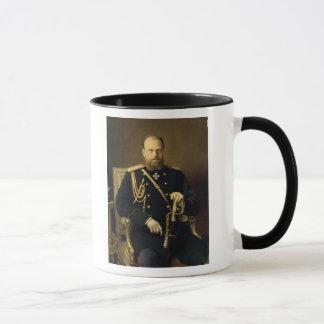 Mug Portrait d'empereur Alexandre III 1886