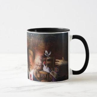 Mug Portrait Du Magicien - un portrait d'un magicien