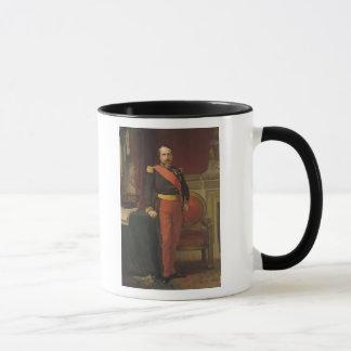 Mug Portrait du napoléon III 1862
