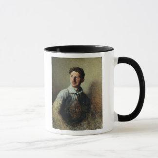 Mug Portrait du poète Sergey Gorodetsky 1909