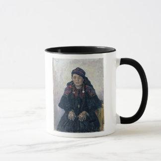 Mug Portrait d'un Cosaque Woman, 1909