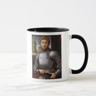 Mug Portrait d'un homme dans l'armure