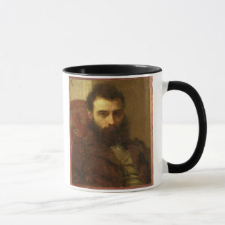 Mug Portrait d'un homme (huile sur le panneau)