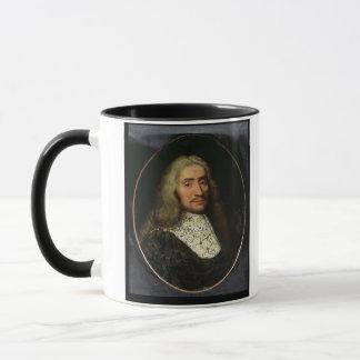 Mug Portrait d'un monsieur (huile sur la toile)