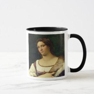 Mug Portrait d'une femme, 1512 (huile sur la toile)