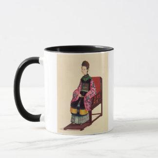 Mug Portrait d'une femme de tartre (la semaine)