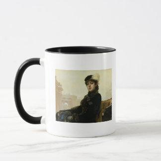 Mug Portrait d'une femme inconnue, 1883