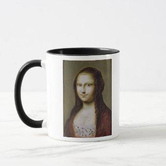 Mug Portrait d'une femme inspirée par la Mona Lisa