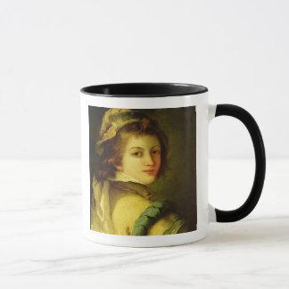 Mug Portrait d'une page, 1762-70 (huile sur la toile)