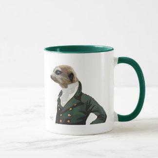 Mug Portrait élégant de Meerkat