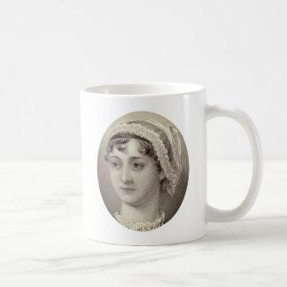 Mug Portrait et citation de Jane Austen… rien mais thé